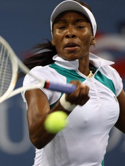Venus Williams at the 2007 US Open