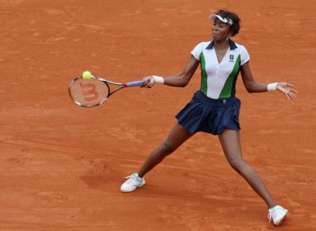 Venus Williams at 2008 Roland Garros
