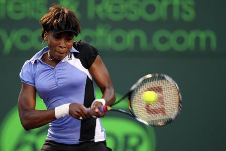 Venus Williams at the 2008 Sony Ericsson Open