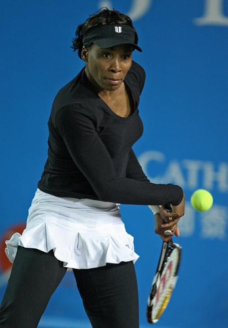 Venus Williams in Hong Kong