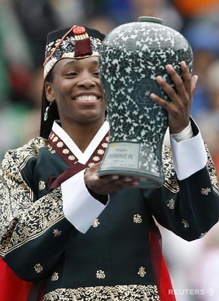 Venus Williams Wins Hansol Korean Open