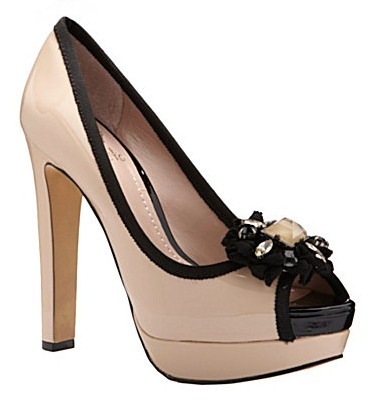 Vince Camuto Genevive Peep-Toe Pumps
