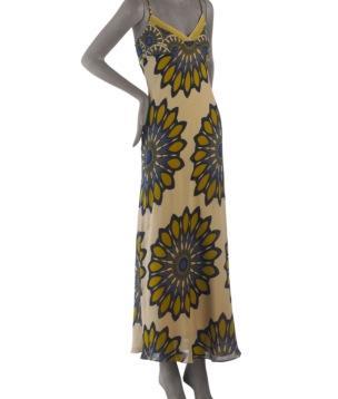 Vince Chiffon Patio Dress
