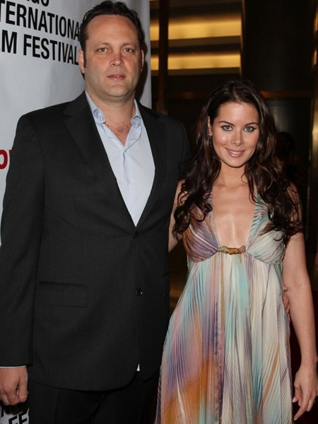 Kyla Weber and Vince Vaughn