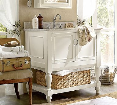Vintage Charm - Bathroom decorating ideas
