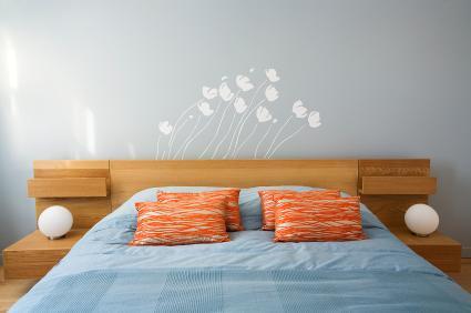 Bedroom on Vinyl Wall Art   Bedroom Decorating Ideas