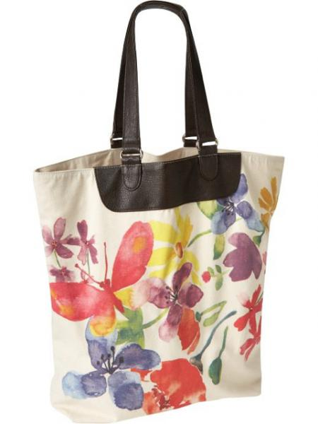 Watercolor-Graphic Tote