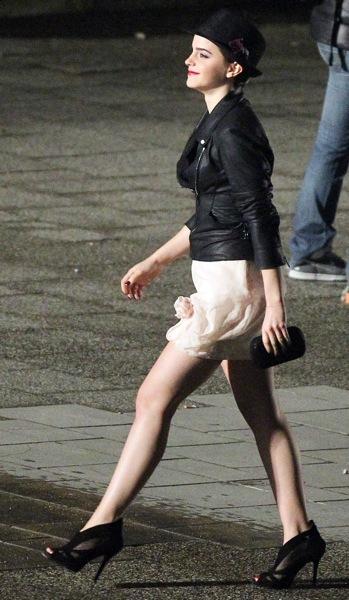 Emma Watson in heels