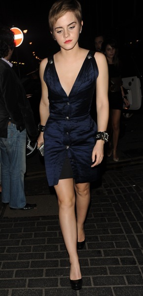 Emma Watson in a form fitting dress