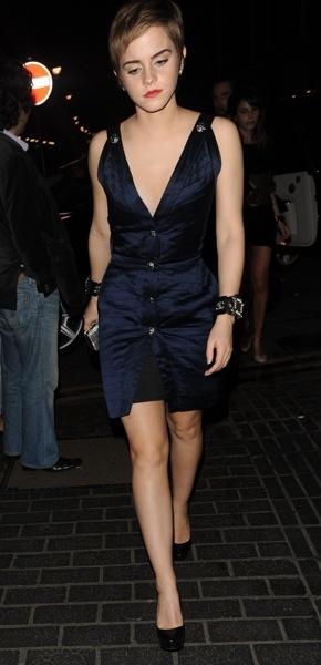 Emma Watson in a form fitting dress