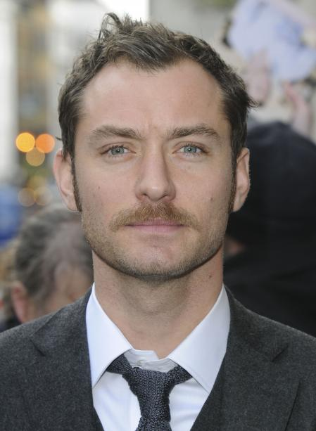 A close-up of Jude Law as Watson