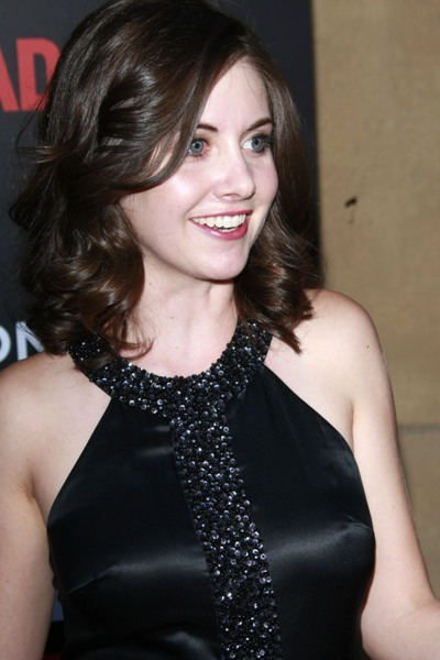 Alison Brie premieres 'Mad Men'