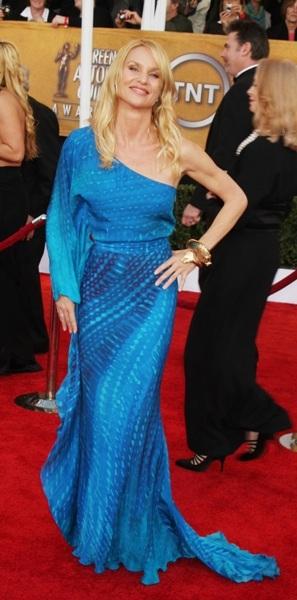 Nicollette Sheridan arrives at the SAG Awards