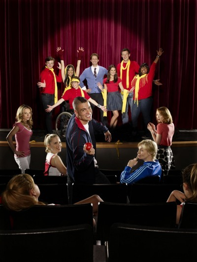 The cast of 'Glee'