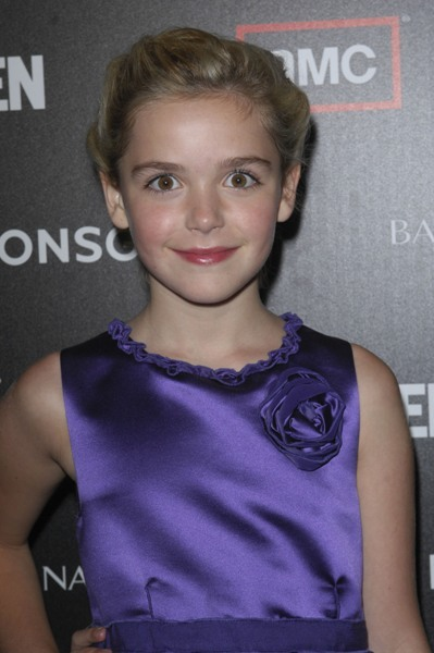 Kiernan Shipka promotes &#039;Mad Men&#039;