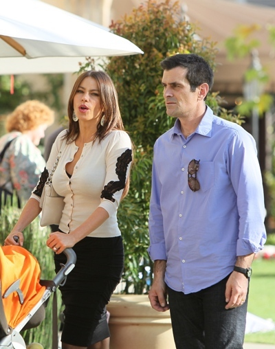 Co-stars Sofia Vergara and Ty Burrell