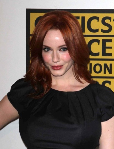 Christina Hendricks always wows