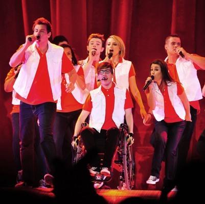 'Glee' in concert!
