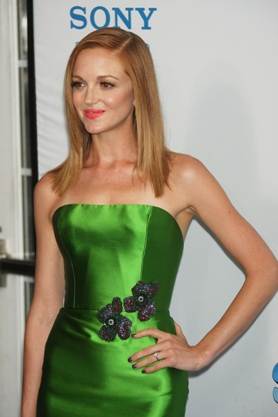 Jayma Mays goes green