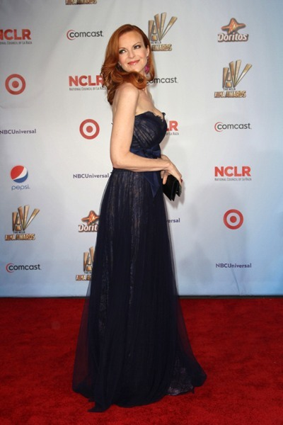 Marcia Cross celebrates the ALMAs