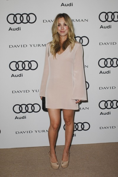 Kaley Cuoco is Audi this world
