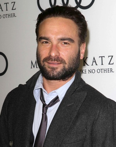 Johnny Galecki hits the red carpet