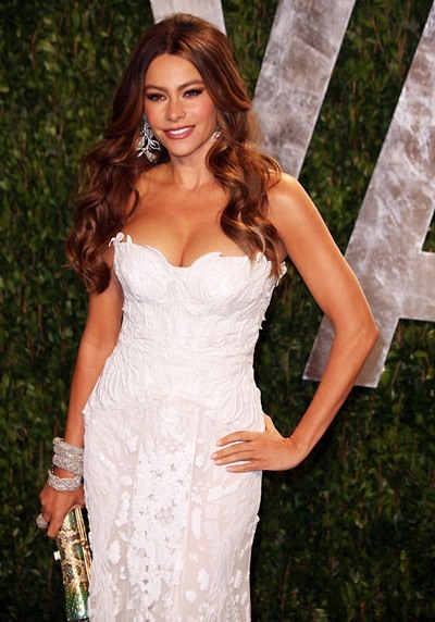 Sofia Vergara is white hot
