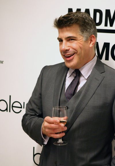 Bryan Batt knows a nice tie