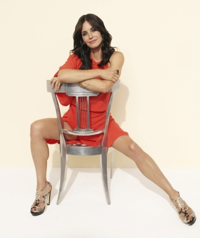 Courteney Cox means business