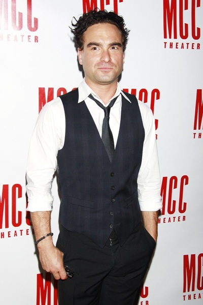 Johnny Galecki cleans up