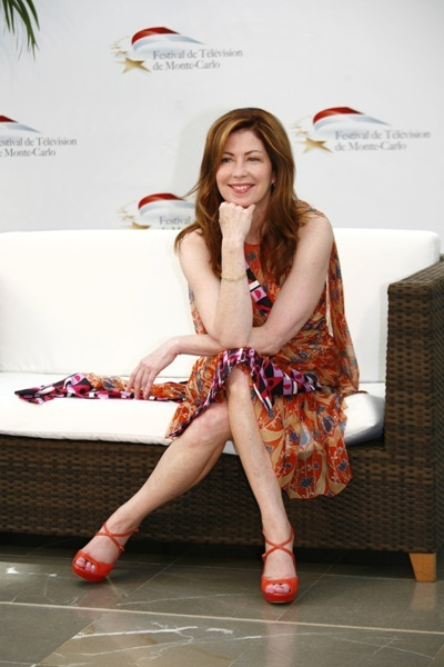 Dana Delany takes a breather