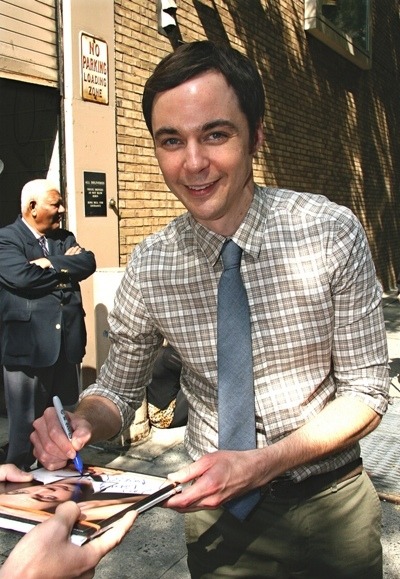 Jim Parsons signs away