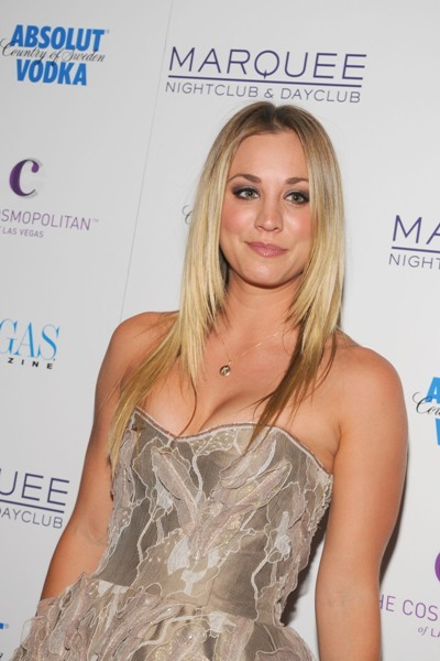 Kaley Cuoco heads to Vegas