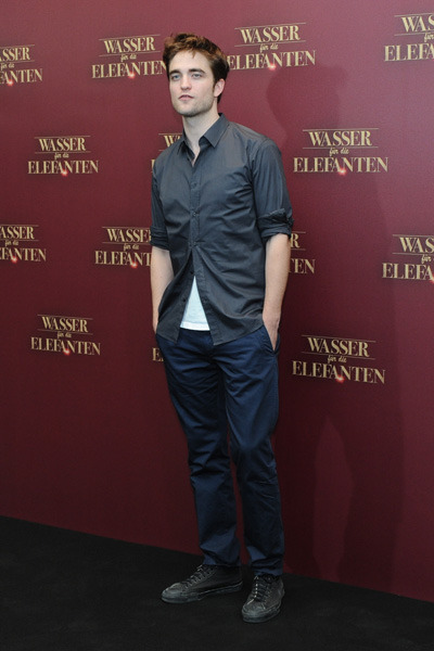 "Robert Pattinson ""Water for Elephants"" photocall Berlin"