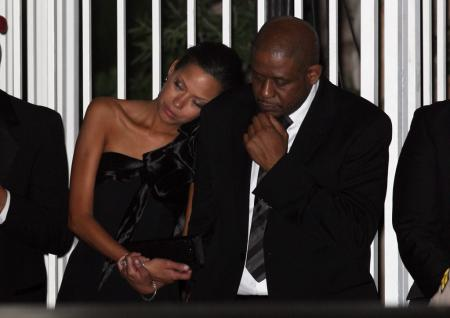 Keisha and Forest Whitaker at the 2009 Oscars