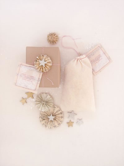 White gift-wrapping ideas
