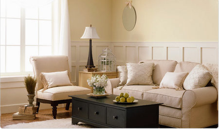 Whites are Anything but Boring - Living Room