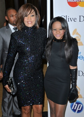 Whitney Houston and daughter Bobbi Christina