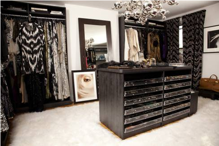 Mary Alice Stephenson's closet