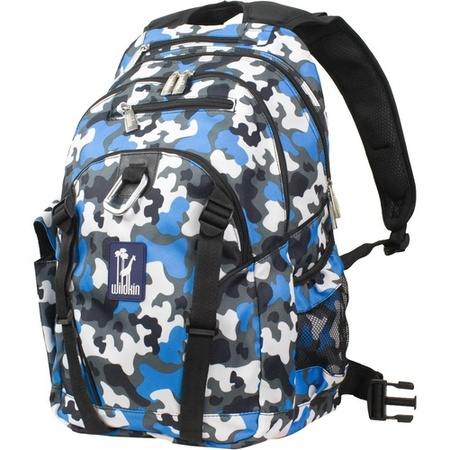Wildkin Serious blue camo backpack