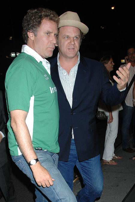 Actors Will Ferrell and John C. Reilly