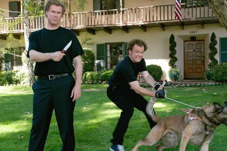 Will Ferrell and John C. Reilly in a scene from Step Brothers