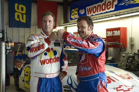 Will Ferrell and John C. Reilly in Talladega Nights: The Ballad of Ricky Bobby