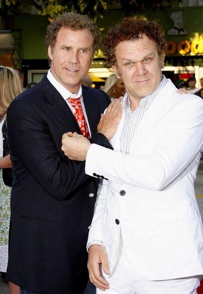 Will Ferrell and John C. Reilly at the Step Brothers premiere in L.A.