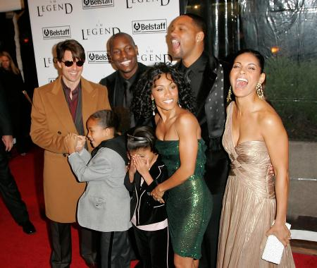Will Smith, Tom Cruise and other stars at the I Am Legend premiere