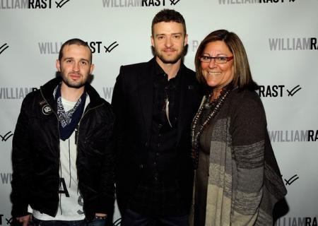 William Rast clothing line owners Justin Timberlake and Trace Ayala