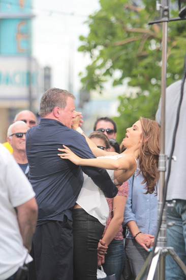 William Shatner & Maria Menounos