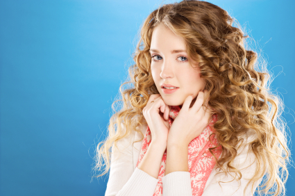 Curly hair - Ringlets with extra volume