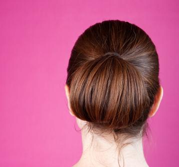 Updo - Folded bun