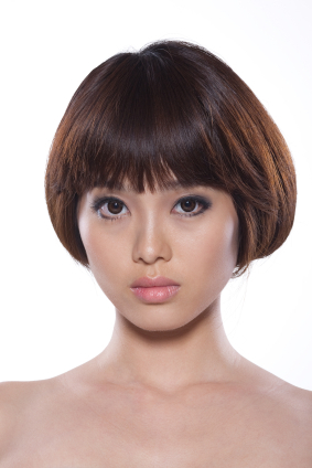 Short Hair - Classic rounded bob